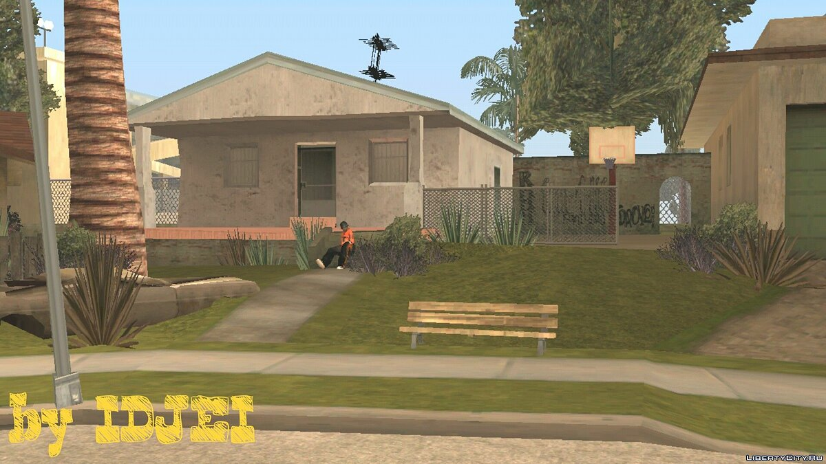 CLEO script Groove Street OCW (V1) for GTA San Andreas (iOS, Android)