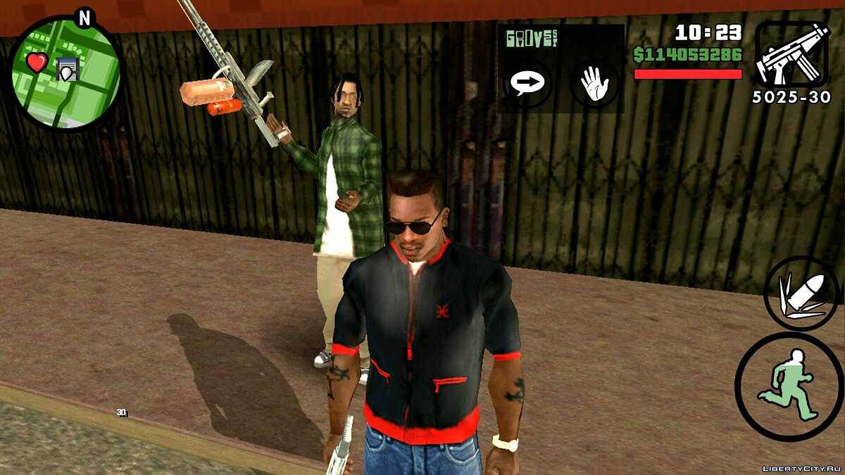 CLEO script Arming the gang for GTA San Andreas (iOS, Android)