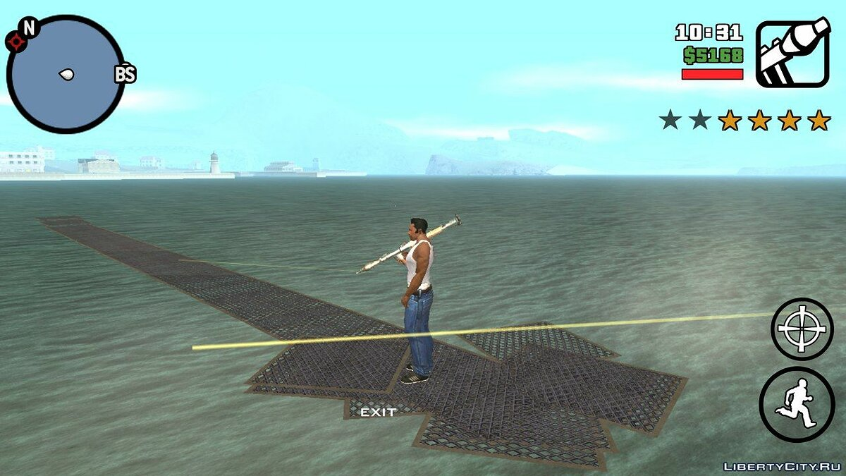 CLEO script Ladder   Ladder for GTA San Andreas (iOS, Android)
