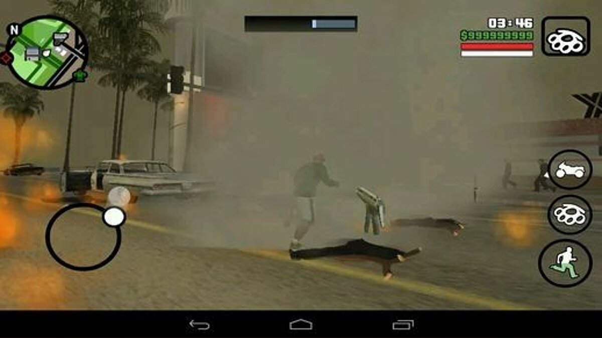 CLEO script Tornado Mod For Android for GTA San Andreas (iOS, Android)