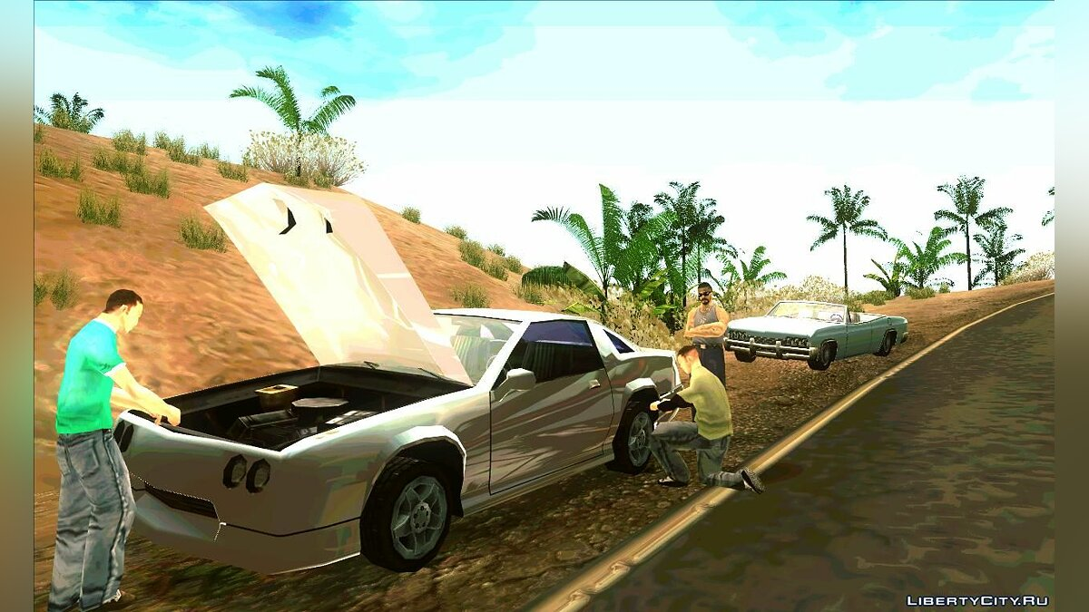 CLEO script Поломки машин for GTA San Andreas (iOS, Android)