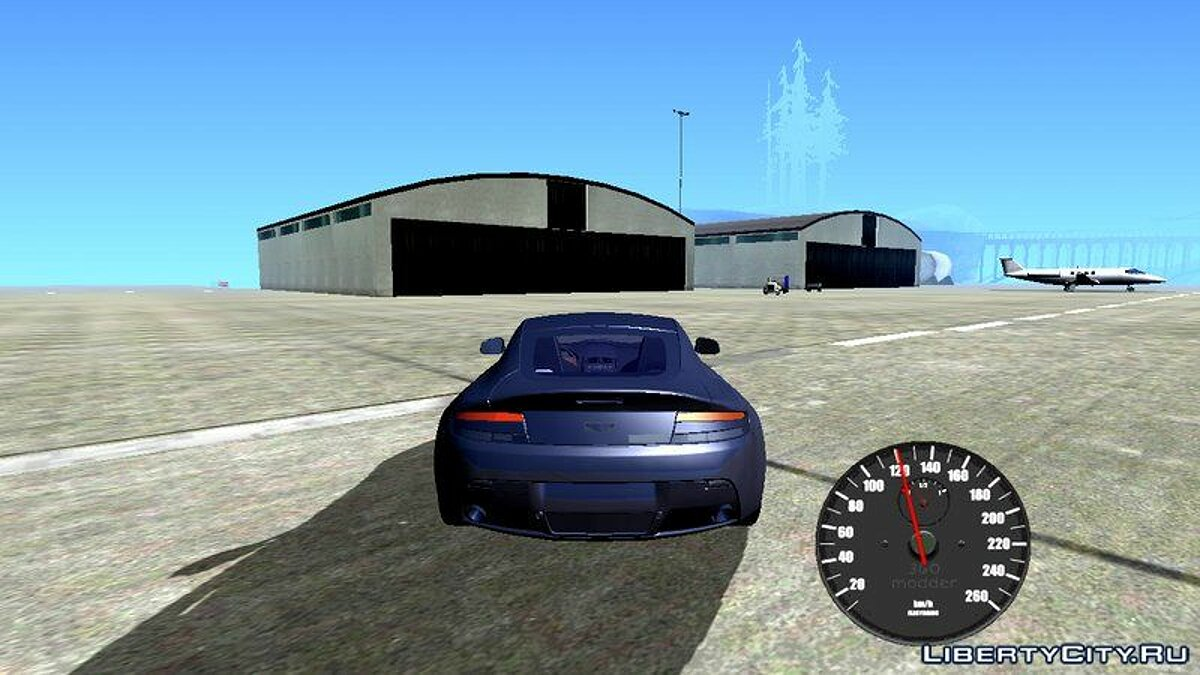 CLEO script Classical Speedometer For Android for GTA San Andreas (iOS, Android)