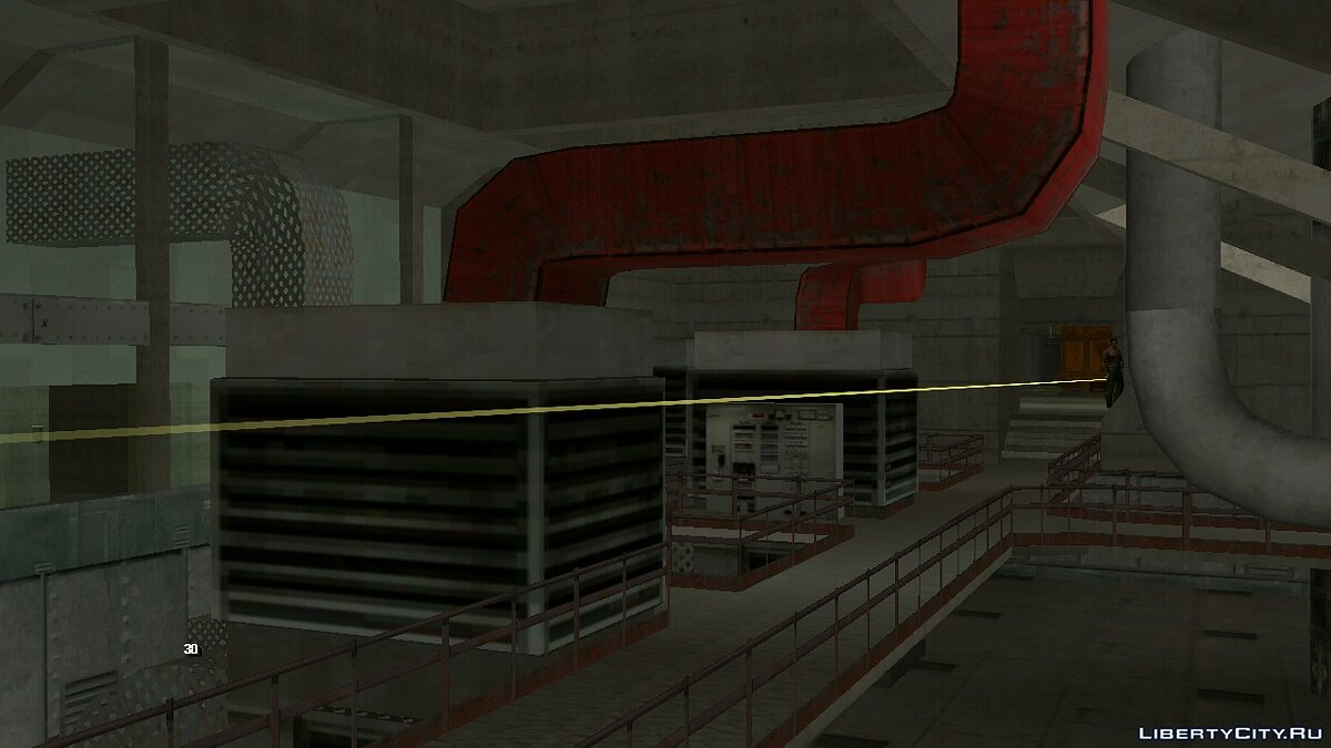 CLEO script Site 51 Laser Security System for GTA San Andreas (iOS, Android)