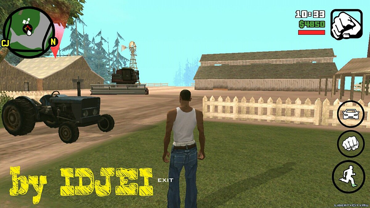 Work in the 1.0 (Android) field for GTA San Andreas (iOS, Android)