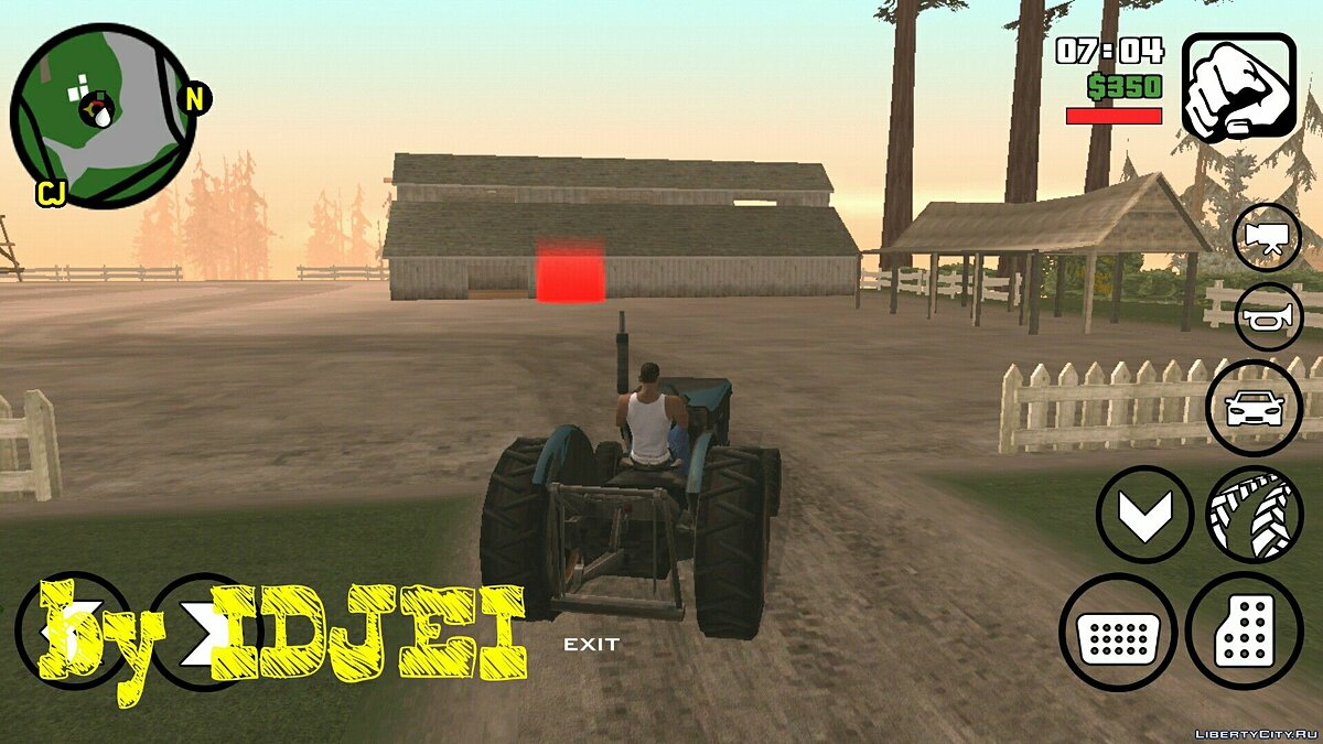 Work in the 1.0 (Android) field for GTA San Andreas (iOS, Android) - screenshot #2