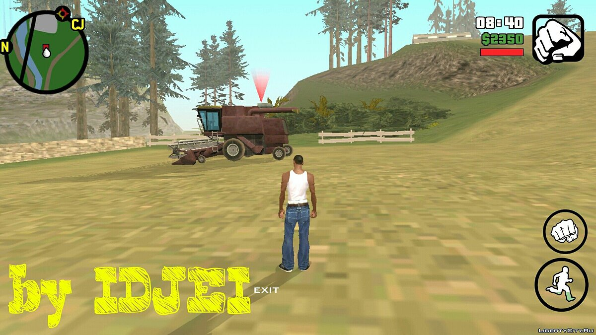 Work in the 1.0 (Android) field for GTA San Andreas (iOS, Android) - screenshot #5