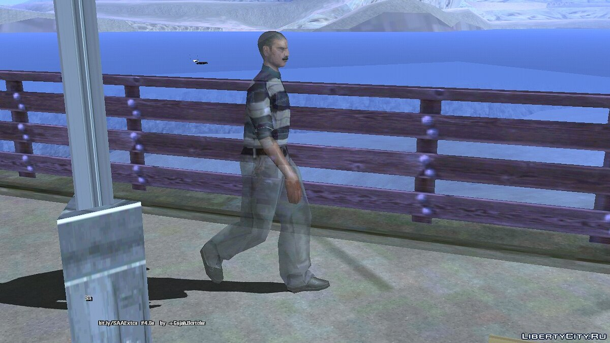 CLEO script The Phantom of T-Bon Mendes for GTA San Andreas (iOS, Android)