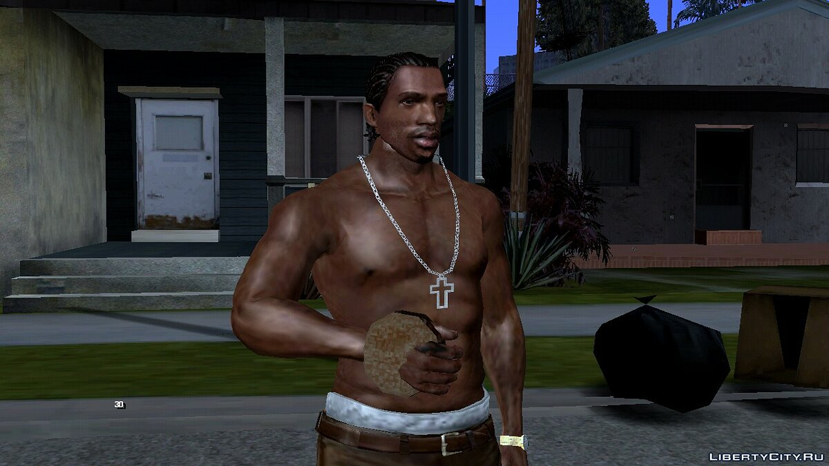 CLEO script Cure health with burger for GTA San Andreas (iOS, Android)