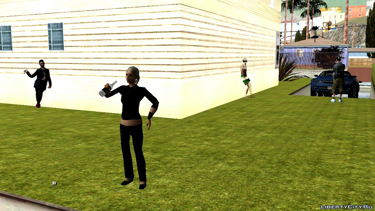 CLEO script Jefferson Party for GTA San Andreas (iOS, Android)