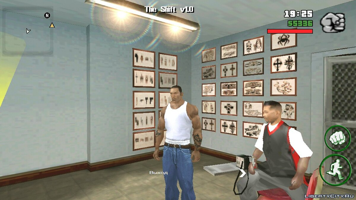 All open salons (tattoo, hairdresser ...) for GTA San Andreas (iOS, Android) - Картинка #3