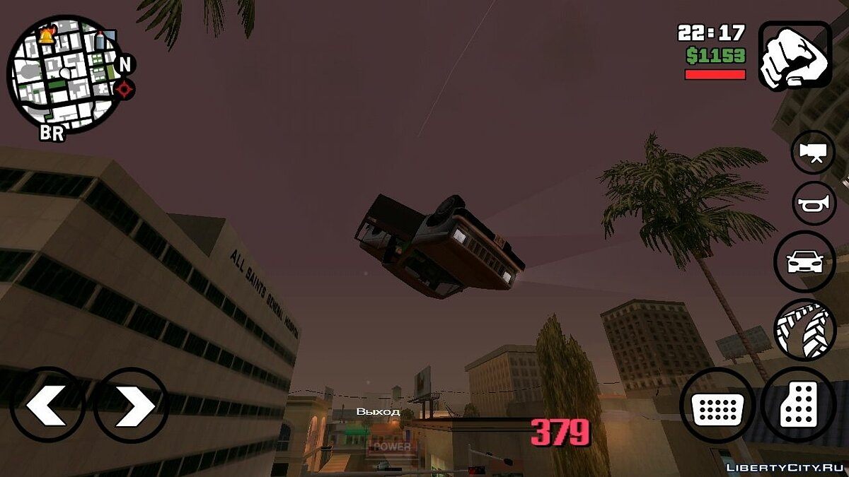 Accelerator for GTA San Andreas (iOS, Android) - screenshot #3