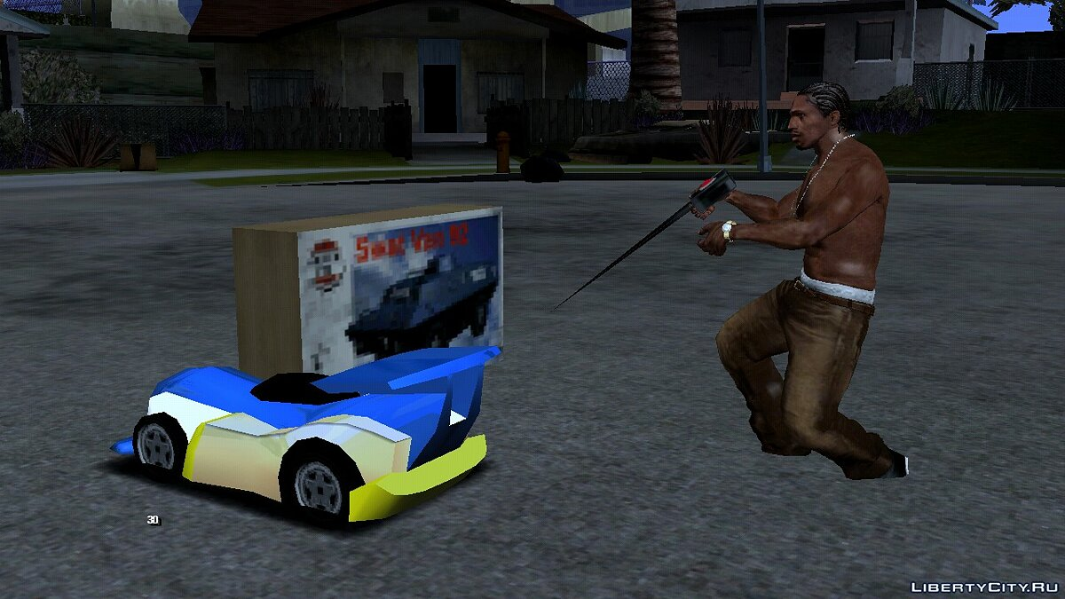 CLEO script Radio Controlled Toy Car for GTA San Andreas (iOS, Android)