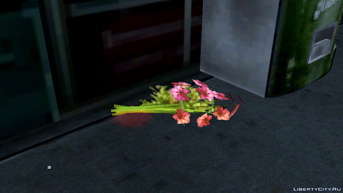 CLEO script The weapon is on the ground (Like in GTA 5) for GTA San Andreas (iOS, Android)