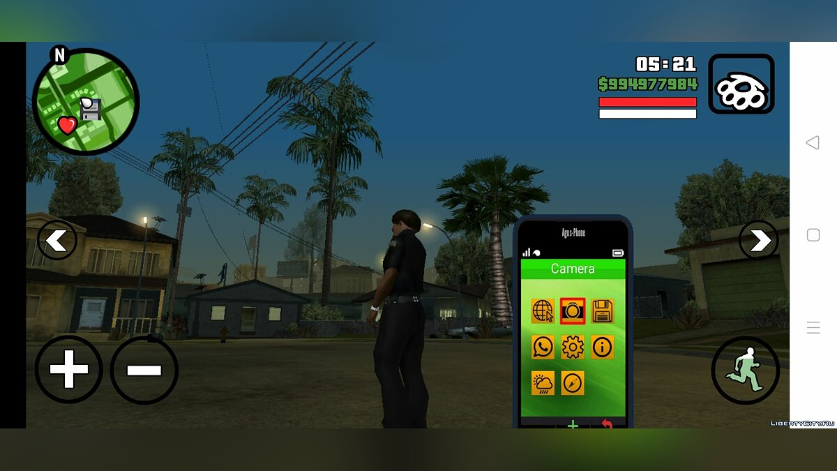 Interactive phone for GTA San Andreas (iOS, Android) - Картинка #1