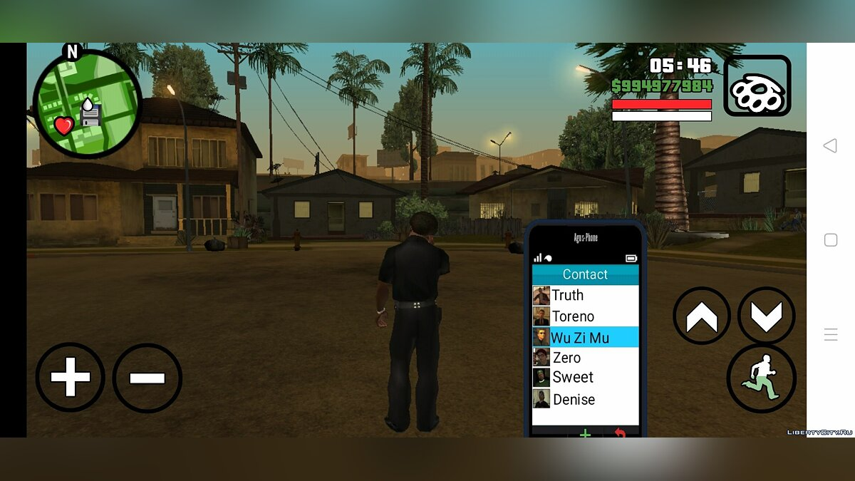 Interactive phone for GTA San Andreas (iOS, Android) - Картинка #4
