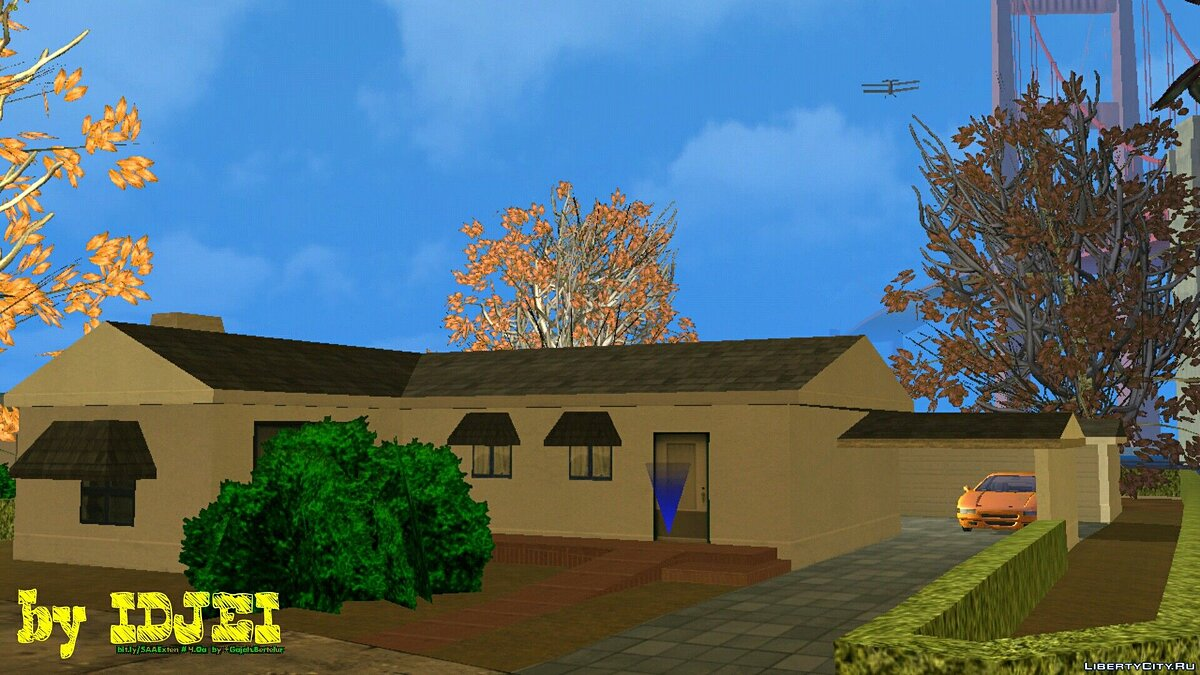 CLEO script House on Bayside # 3 for GTA San Andreas (iOS, Android)