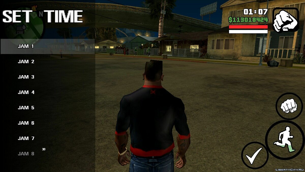 Set the time for GTA San Andreas (iOS, Android) - screenshot #2
