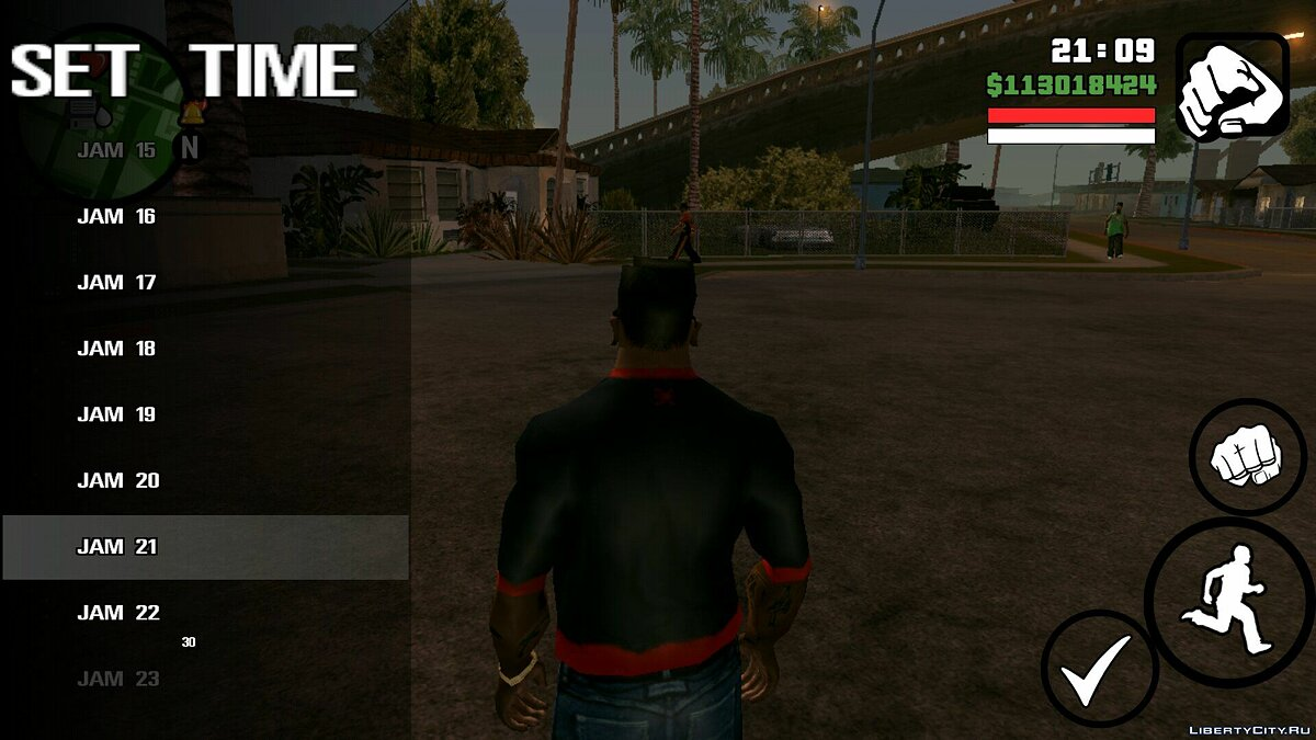 Set the time for GTA San Andreas (iOS, Android) - screenshot #3