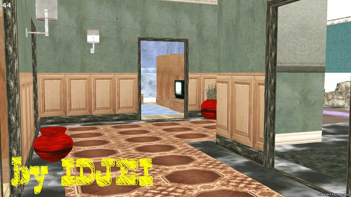 Interiors from the cutscene 1.0 for GTA San Andreas (iOS, Android) - Картинка #15