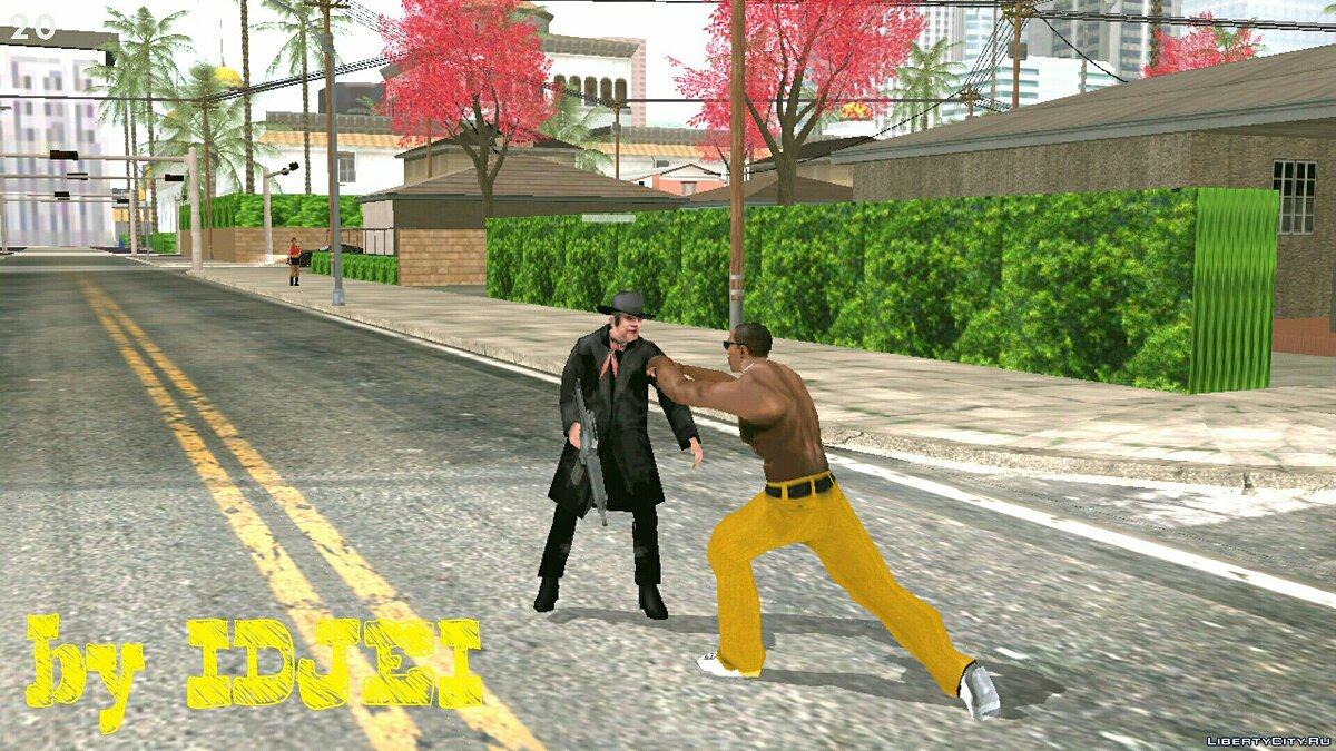 The Psycho in Idlewood for GTA San Andreas (iOS, Android) - screenshot #2