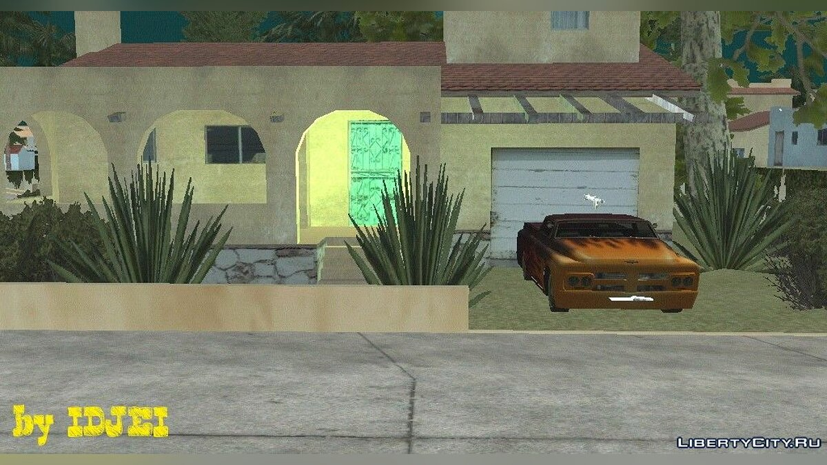 Secret House CJ for GTA San Andreas (iOS, Android)