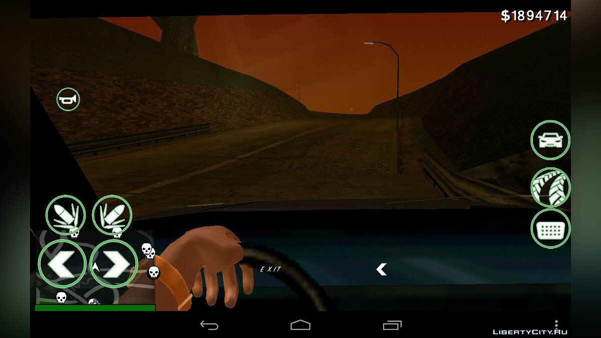 First Person BETA for GTA San Andreas (iOS, Android) - screenshot #2