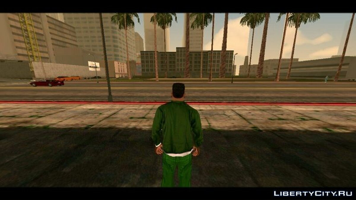 CLEO script Fish eye effect (POV) for GTA San Andreas (iOS, Android)
