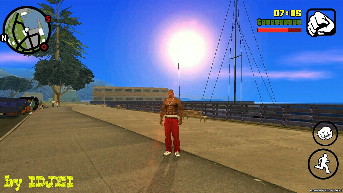 CLEO script Speed time for GTA San Andreas (iOS, Android)
