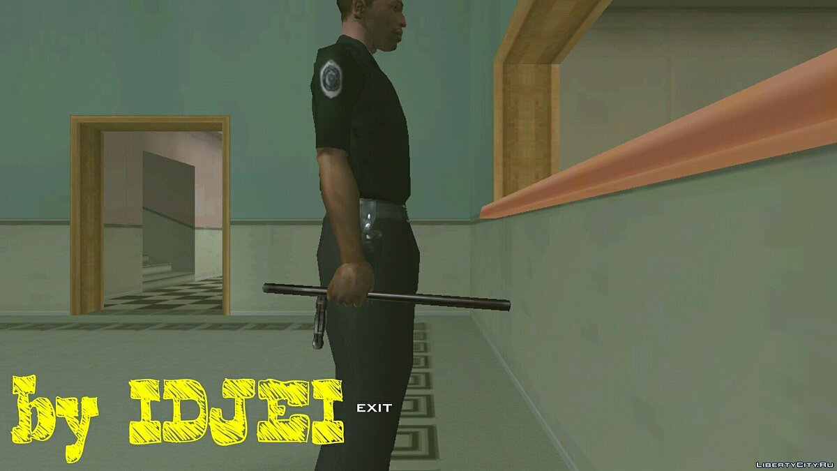 CLEO script Work as a cop in SF for GTA San Andreas (iOS, Android)