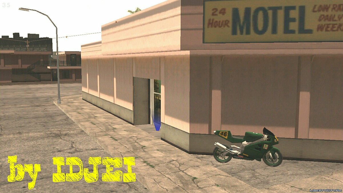 Possibility to rent a room in a motel for GTA San Andreas (iOS, Android) - Картинка #1
