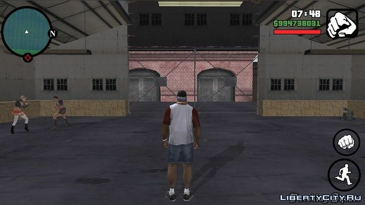 CLEO script Go to jail upon arrest for GTA San Andreas (iOS, Android)
