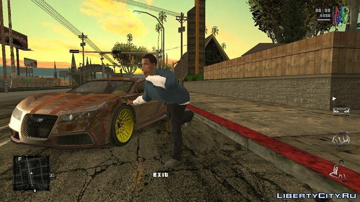 CLEO script Graphics settings during the game for GTA San Andreas (iOS, Android)