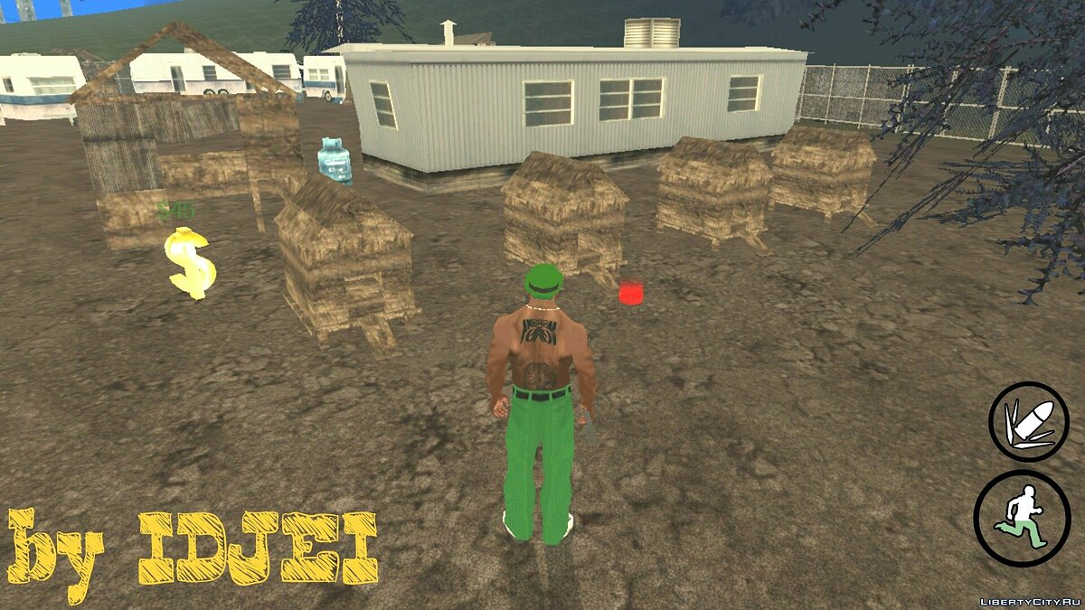 CLEO script The apiary (V.2) for GTA San Andreas (iOS, Android)