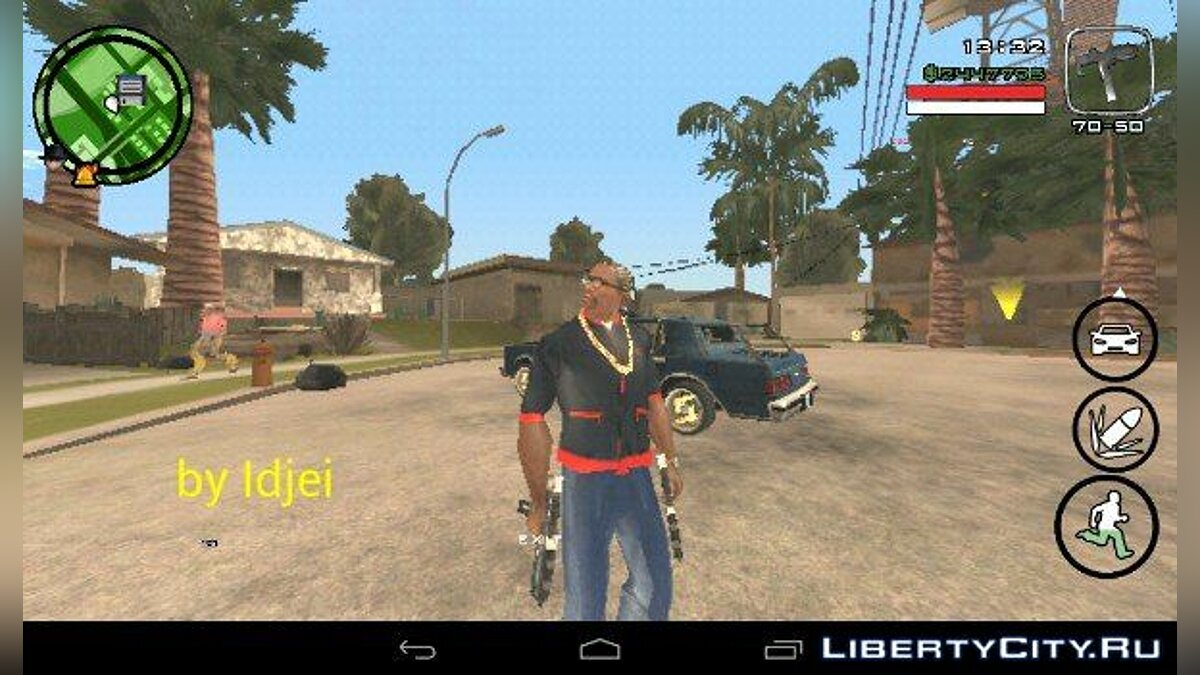 CLEO script Pack of scripts in the style of GTA IV for GTA San Andreas (iOS, Android)