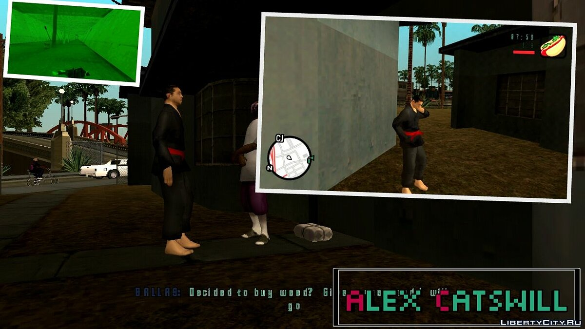 CLEO script Buying Drugs - Ability to buy drugs for GTA San Andreas (iOS, Android)