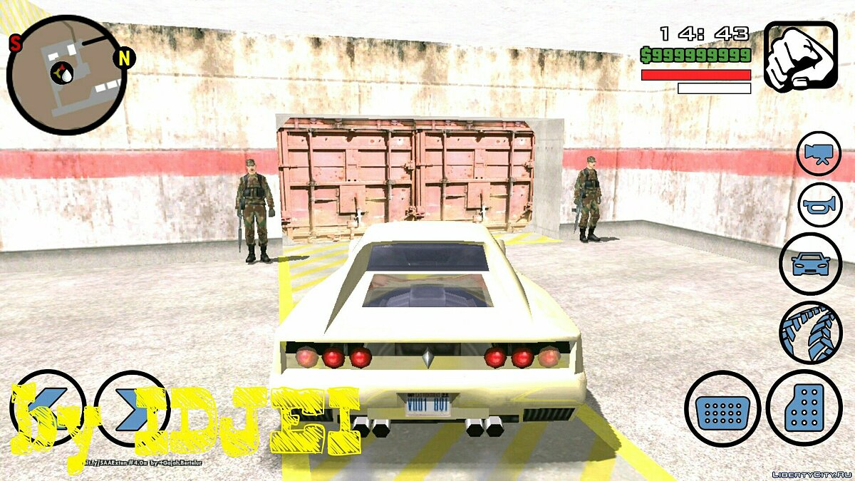 CLEO script Work in the Army (Zona51) for GTA San Andreas (iOS, Android)