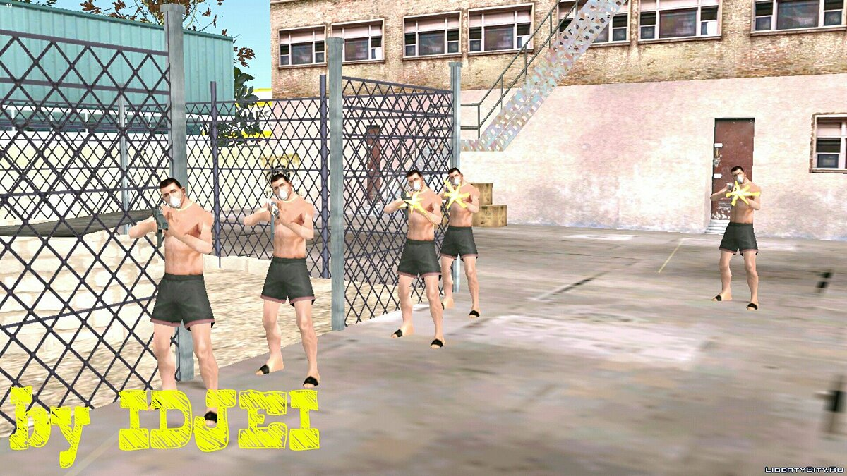 CLEO script Death of the Great Bear for GTA San Andreas (iOS, Android)