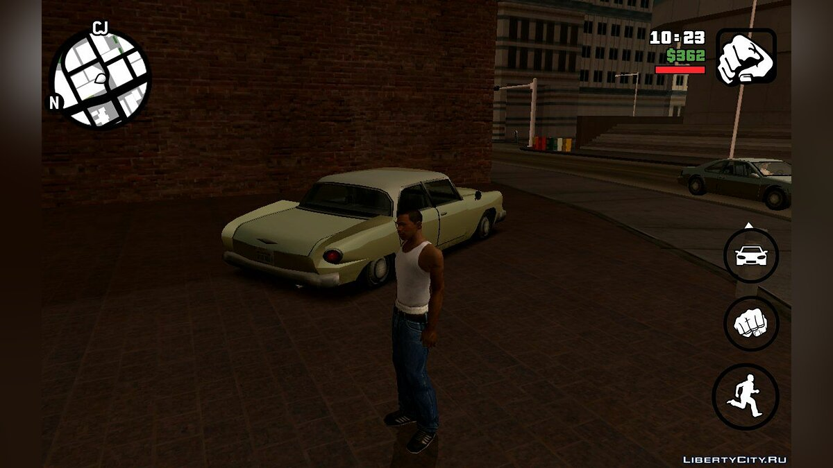 CLEO script More parked cars v1 for GTA San Andreas (iOS, Android)
