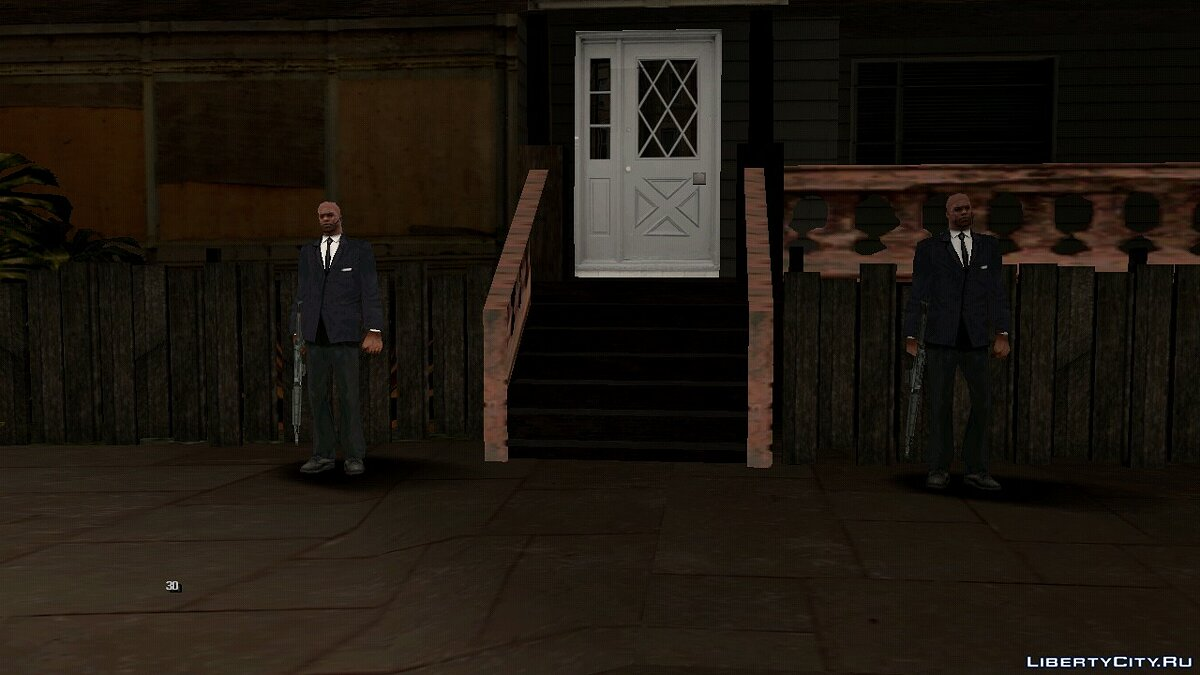 CLEO script Guards on Grove Street for GTA San Andreas (iOS, Android)