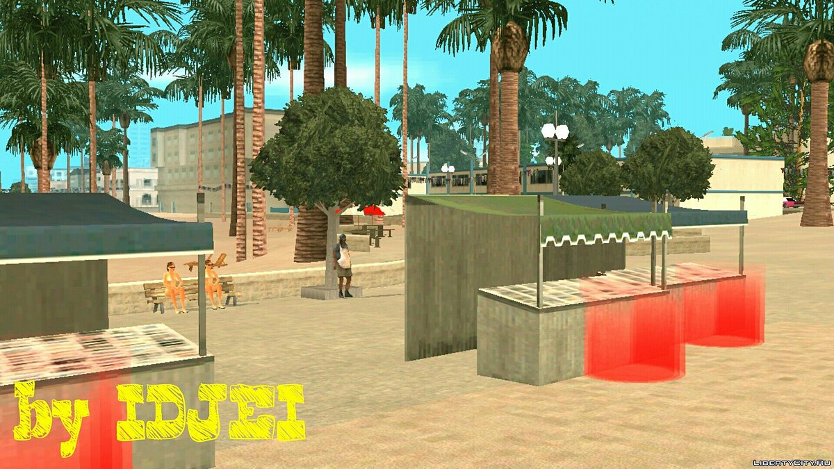 CLEO script Meat shops for GTA San Andreas (iOS, Android)