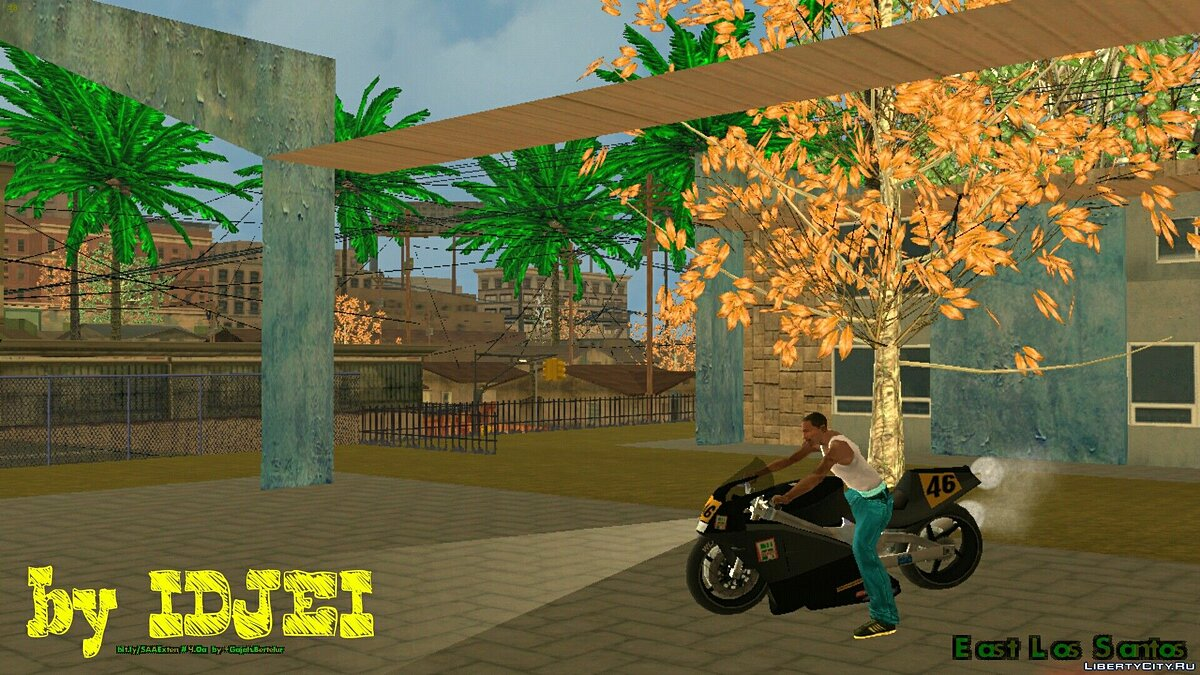 CLEO script Noclip for GTA San Andreas (iOS, Android)