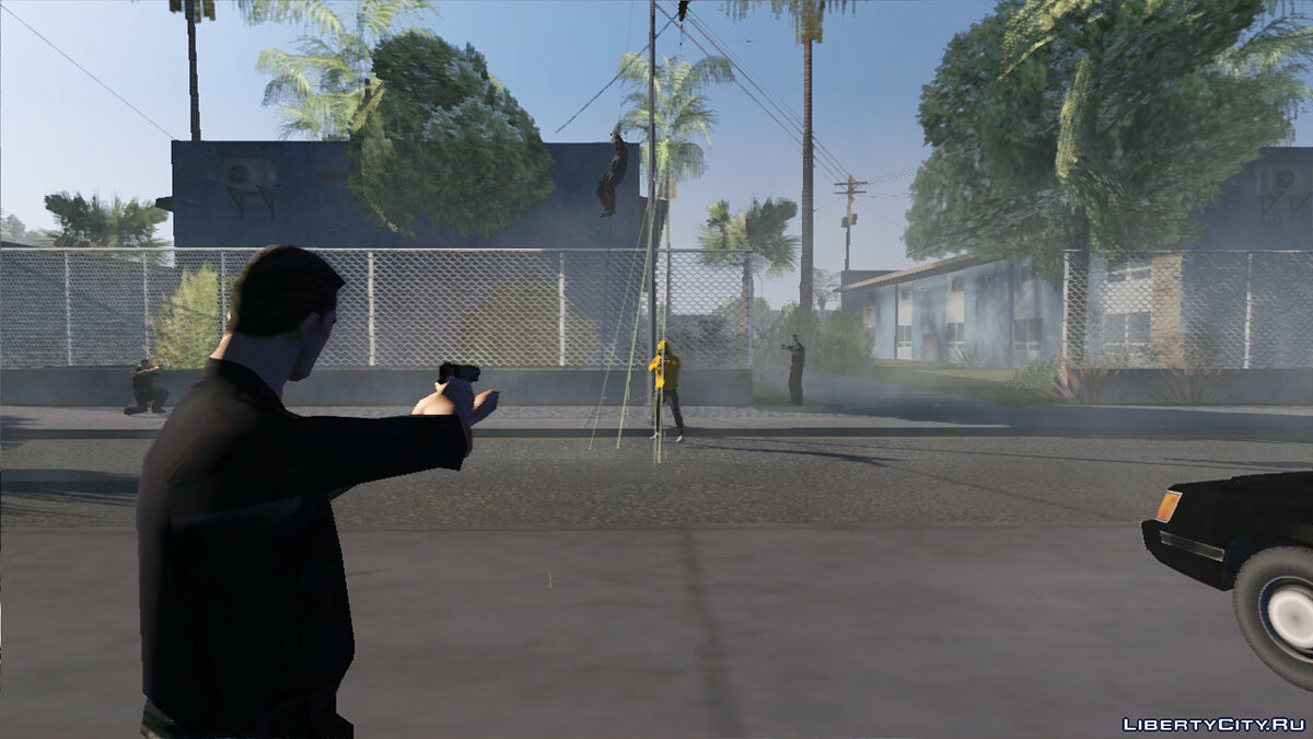 CLEO script Improved pedestrian skills for GTA San Andreas (iOS, Android)
