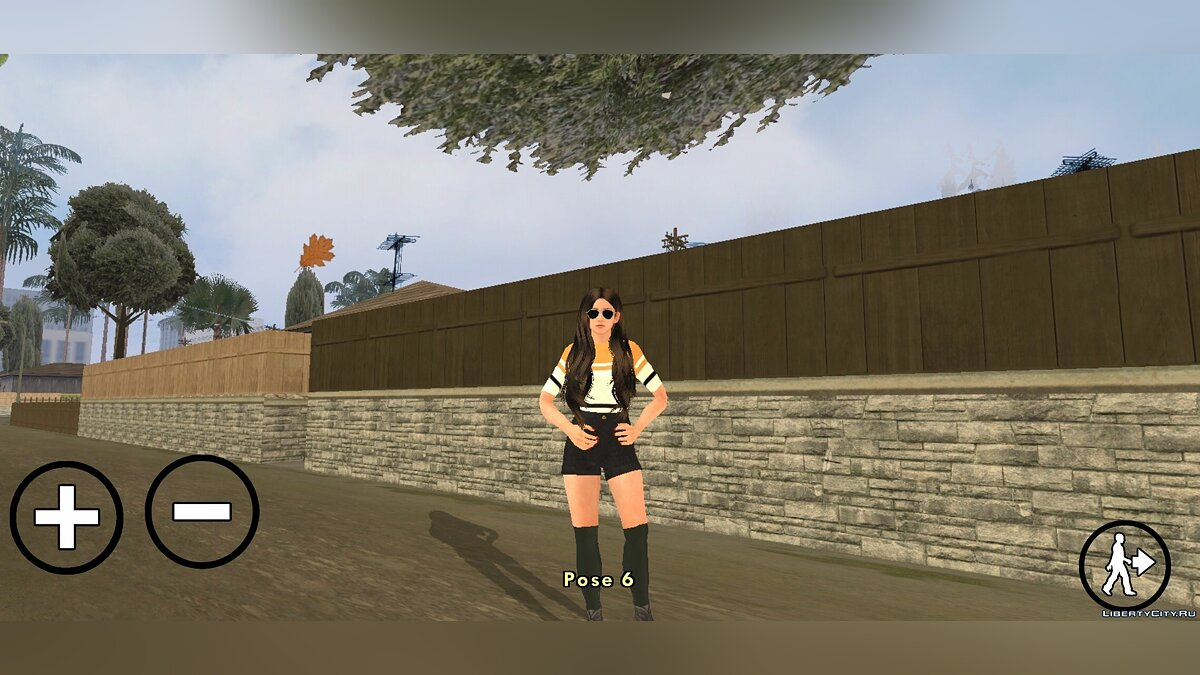 CLEO script Pose selection for GTA San Andreas (iOS, Android)