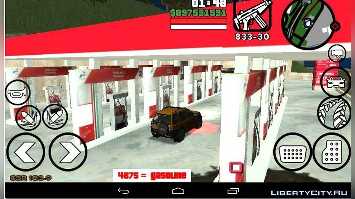Gasoline For Android for GTA San Andreas (iOS, Android) - Картинка #1