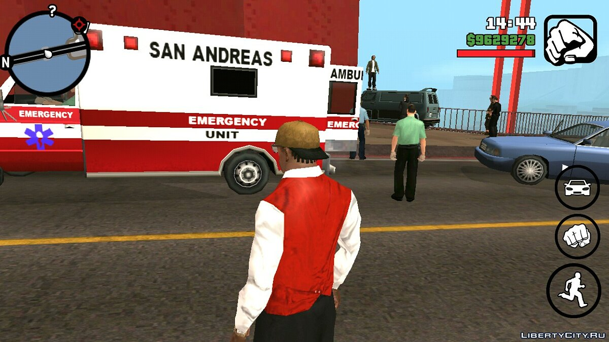 CLEO script Suicide On The Bridge for GTA San Andreas (iOS, Android)
