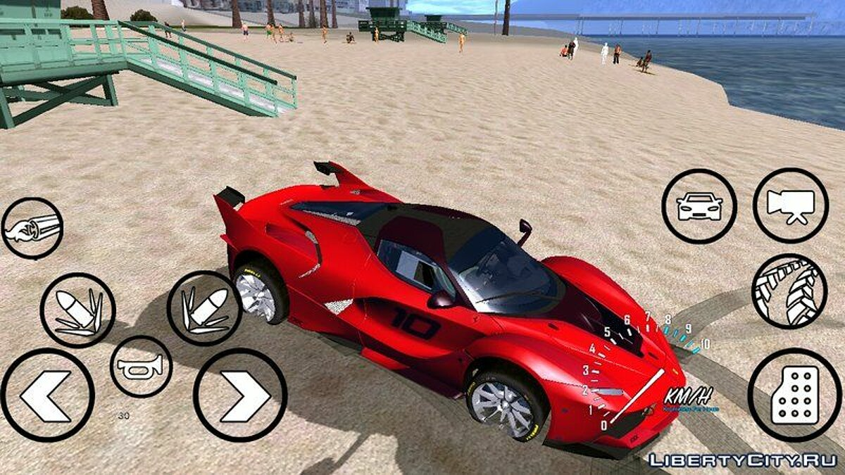 CLEO script Simple speedometer for GTA San Andreas (iOS, Android)