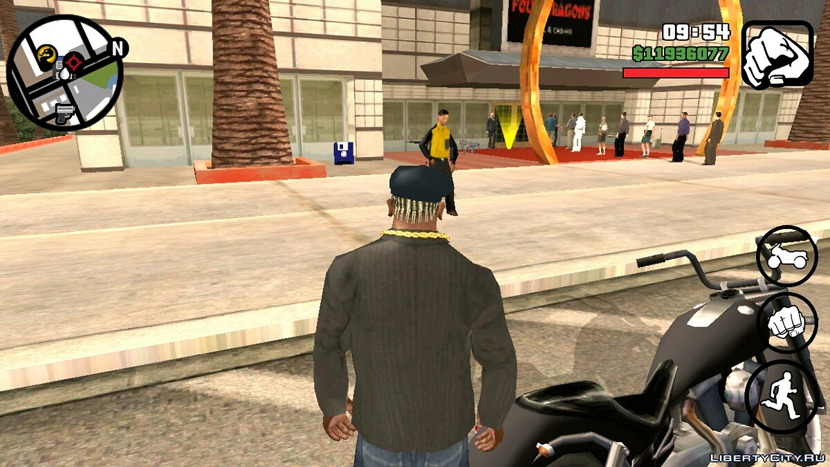 CLEO script Revitalization of the Four Dragons Casino v1.0 for GTA San Andreas (iOS, Android)
