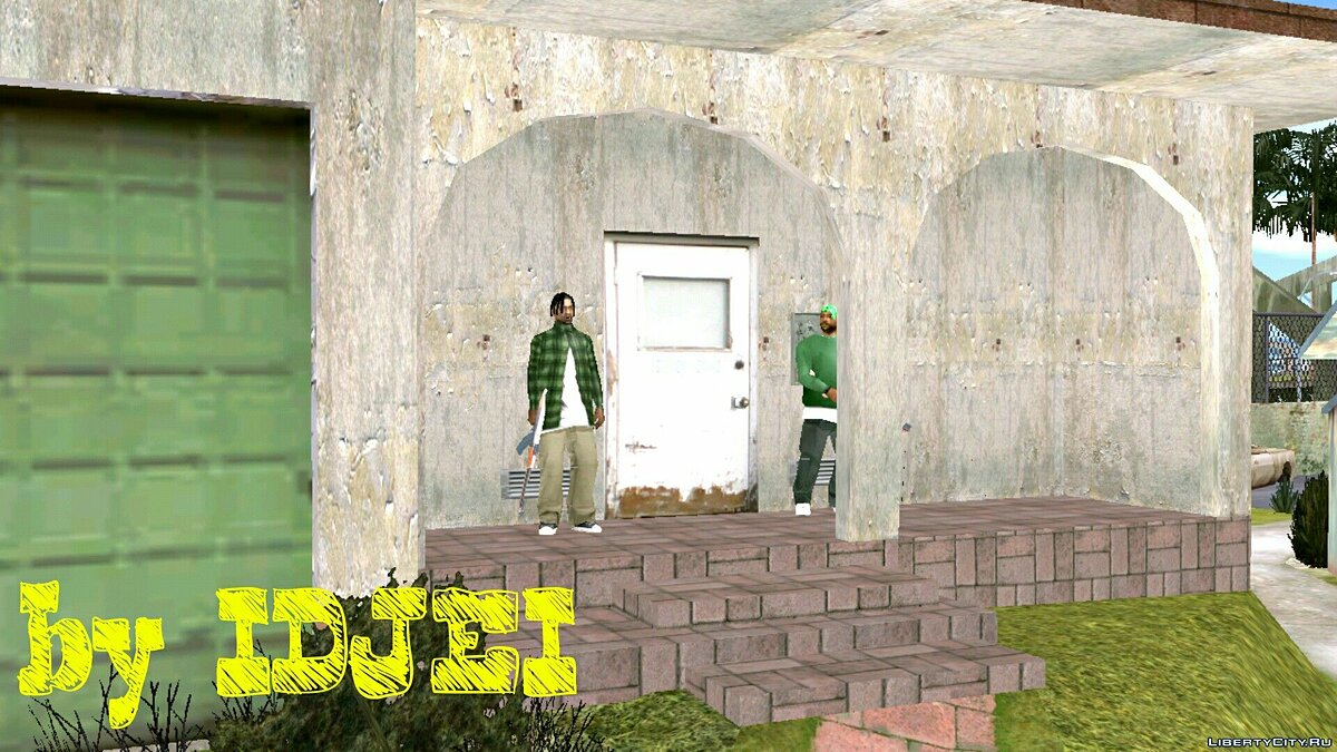 CLEO script Protection of brothers in Grove Street for GTA San Andreas (iOS, Android)