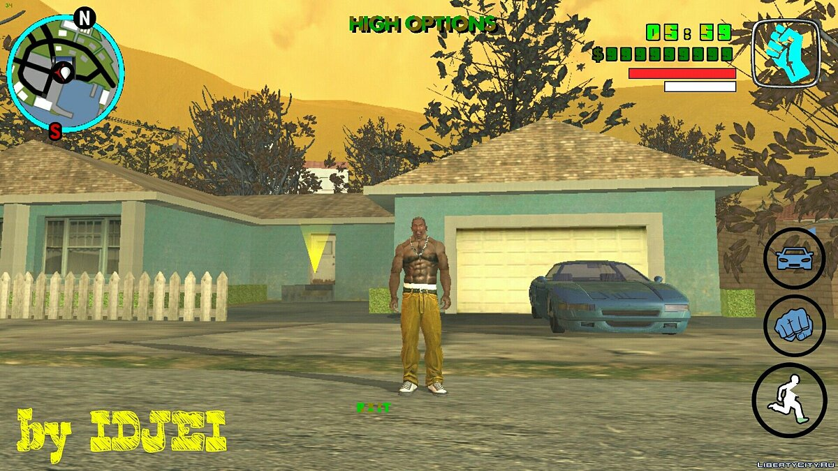 CLEO script House on Bayside # 2 for GTA San Andreas (iOS, Android)