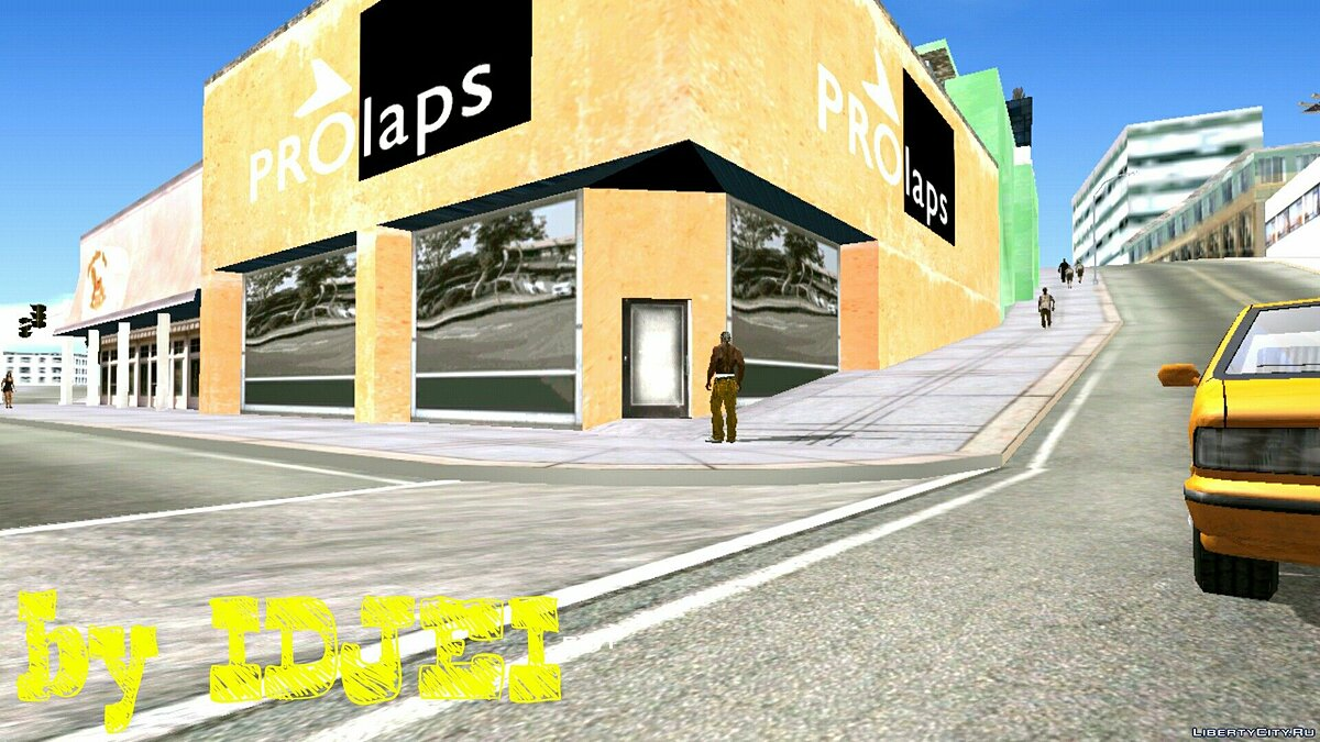 CLEO script Pro Laps Business for GTA San Andreas (iOS, Android)